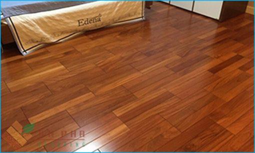 Công trình sàn gỗ đỏ nam phi