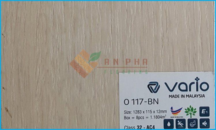 sàn gỗ công nghiệp vario o117-bn cung cấp bởi sàn gỗ an pha