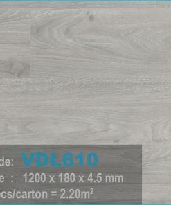 sàn nhựa vdl 610 của sàn gỗ an pha