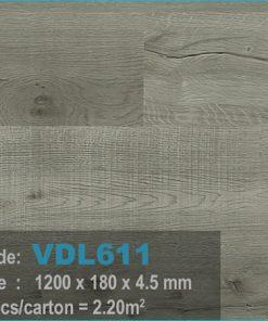 sàn nhựa vdl 611 của sàn gỗ an pha