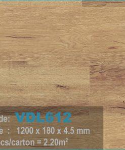 sàn nhựa vdl 612 của sàn gỗ an pha