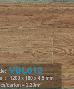 sàn nhựa vdl 613 của sàn gỗ an pha