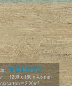 sàn nhựa vdl 615 của sàn gỗ an pha