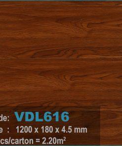 sàn nhựa vdl 616 của sàn gỗ an pha