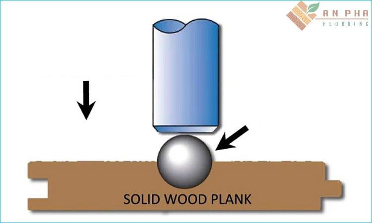 Cách đo độ cứng gỗ tự nhiên dựa trên mẫu thử nhỏ