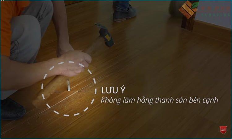 Cách sửa chữa sàn gỗ khi bị hỏng