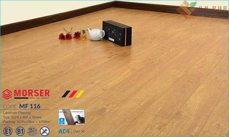 sàn gỗ morser mf116 của sàn gỗ an pha