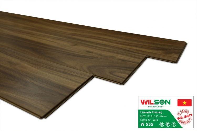 sàn gỗ wilson w555 tại tổng kho sàn gỗ an pha
