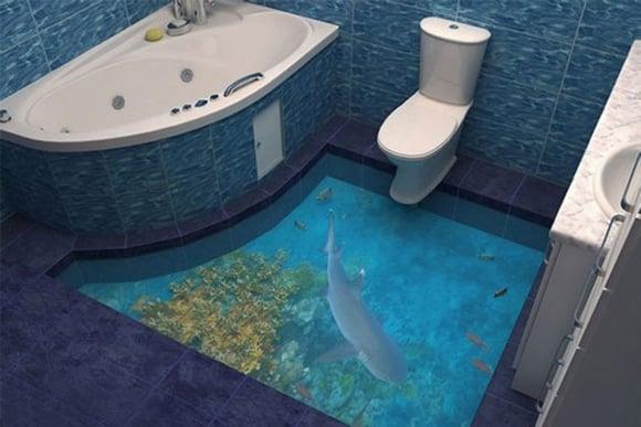 Sàn gạch 3D, cải tiến mới giúp tạo sự thoải mái và thích thú