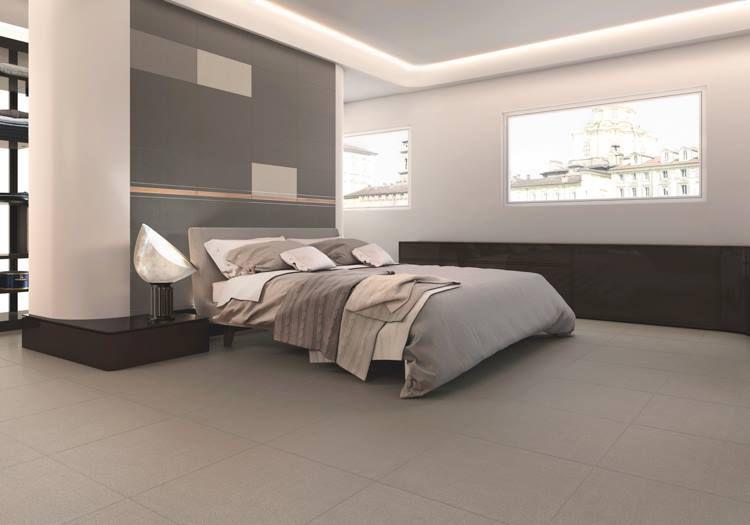 Chọn sàn gạch men màu tối giúp dễ thư giãn cuối ngày