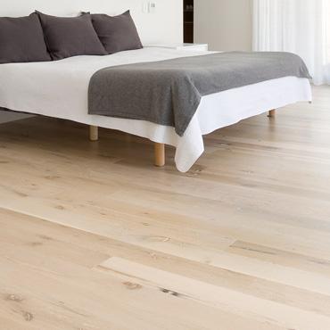 Sàn gỗ Rainforest lắp đặt trong phòng ngủ