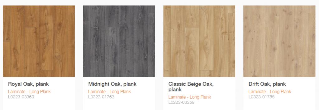 Sàn gỗ Pergo dòng long plank 3
