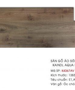 Ván sàn gỗ Kaindl Aqua Pro K4376AV 8mm