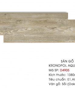 Sàn gỗ Kronopol Aqua Zero D4905 12mm