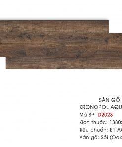Sàn gỗ Kronopol Aqua Zero D2023 12mm