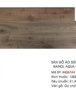 Sàn gỗ Kaindl Aqua Pro K4367AV 8mm