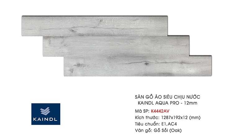 Sàn gỗ Kaindl Aqua Pro K4442AV 12mm