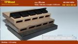 Sàn Gỗ Nhựa TPWood HD140x20-5S