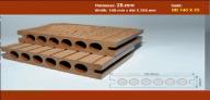 Sàn Gỗ Nhựa TPWood HD140x25-6R
