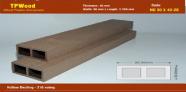 Sàn Gỗ Nhựa TPWood HD90x40-2S